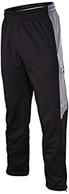 Nike Men's Therma-Fit Elite World Tour Basketball Pants-Black/Gray