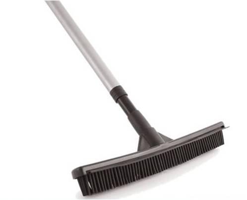 Rubber Broom Brush Ideal Carpet Brush Sweeper Remove Pet Hair Laminate Floor Brush Mop Squeegee