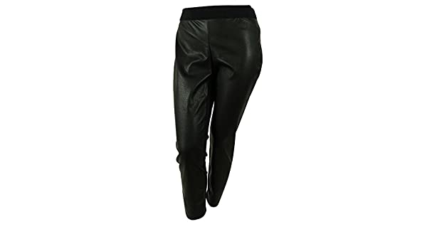 8dc9495295b Alfani Women s Plus Size Faux Leather Snakeskin Ultra Skinny Pants 16w  Black  Amazon.ca  Clothing   Accessories