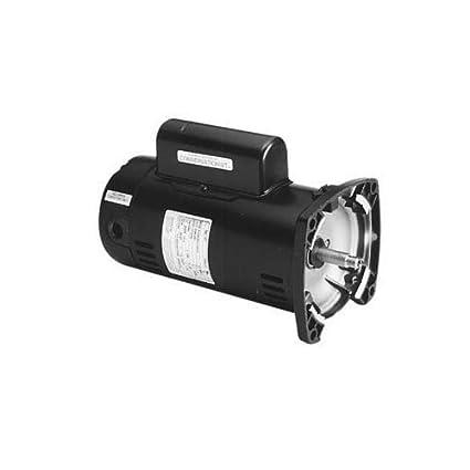 Pump Motor, 1-1/2 HP, 3450, 230 V, 48Y, ODP on