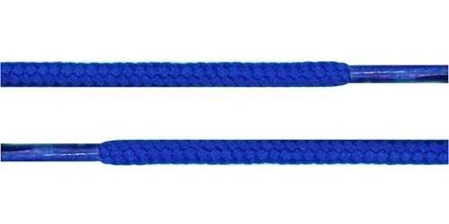 "Round Shoelaces 3/16"" Thick Solid Colors for All Shoe Types Several Lengths"