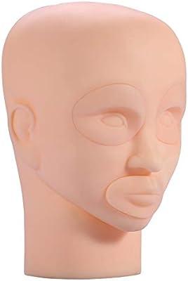 Nuevo modelo de cabeza de maniquí de entrenamiento de tatuaje de ...