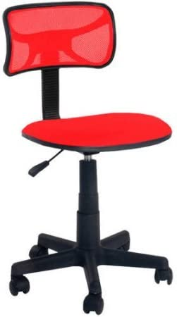 Urban Shop Swivel Mesh Chair | Adjustable Lever for Varying Heights (Red Engine)  sc 1 st  Amazon.com & Home Office Desk Chairs | Amazon.com islam-shia.org