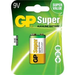 Replacement For 1604A-C1 GP 9V SUPER ALKALINE BATTERY 1PK CARDED Battery 10 PACK by Technical Precision