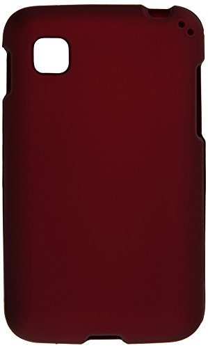 HR Wireless Rubberized Cover for LG Optimus Dynamic II LG39C L39C - Retail Packaging - Red (Lg Optimus Dynamic Phone Cover compare prices)