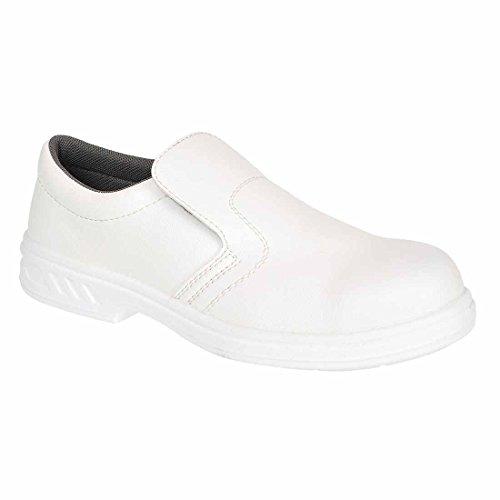 Portwest Fw81 Steelite™ White Slip r48 S2 On Fw81wh Safety Shoe ppqrdwfH
