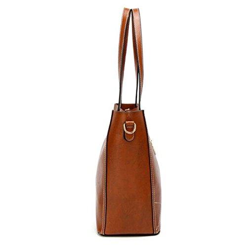 Messenger Crossbody Womens Shoulder Bag Stylish Stylish Womens Leather Red Bag wwT0RI