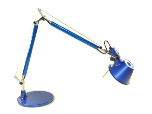 MODO TL-05 Blue Color Office Desk Lamp Polished Aluminum Lights