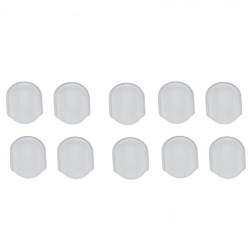 IDS 30PCS Comfort Pads for Clip On Earrings Silicone Earring Pads Cushion For Clip Back Earrings ()