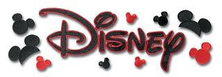 (Disney Embroidered Stickers )