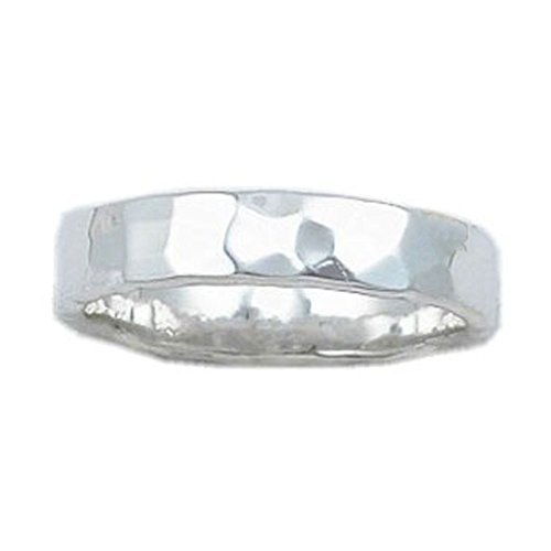 Sterling Silver Stylish Hammered Depth product image