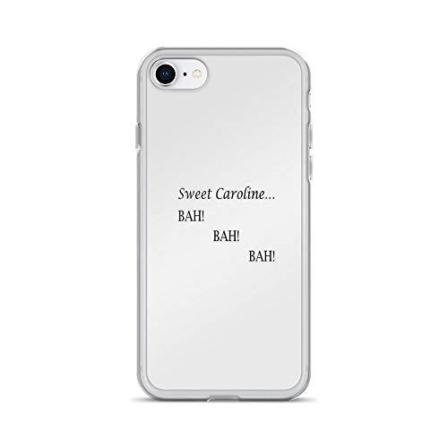 iPhone 7 Case iPhone 8 Case Cases Clear Anti-Scratch Sweet Caroline. BAH! BAH! BAH! - Neil Diamond, Neil Diamond Cover Case for iPhone 7/iPhone 8, Crystal Clear -