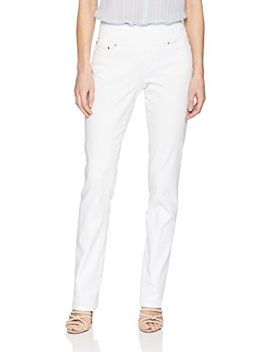 Para Blanco Mujer Mezclilla Jeans Jag xZP0RqAwx
