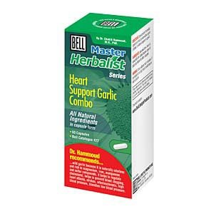 Heart Support Garlic Combo by Bell Lifestyle Products, Inc. - 60 capsules