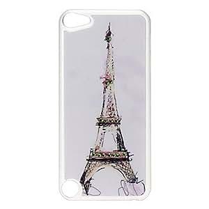 Caso duro del patrÓn Torre Eiffel con diamantes de imitaciÓn para el iPod Touch 5