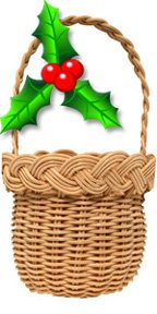 Christmas Ornament Basket Weaving Kit V.I. Reed & Cane Inc. XMAS