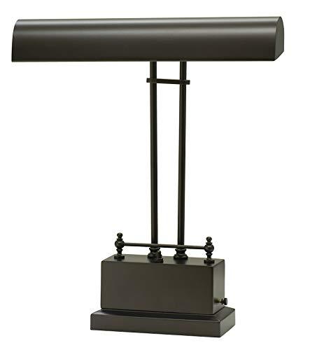 House of Troy BPLED200-81 Battery Operated LED Piano/Desk Lamp, Mahogany Bronze (Digital Piano Troy)
