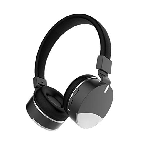 LyJ+evanism Clear and Powerful Bluetooth Headphones, Over-Ear Wireless Bluetooth Headphones -  Noise Cancelling Gaming Headset 4.2  High Clarity Sound Powerful Bass 18 Hrs,for Travel Work TV PC from LyJ+evanism