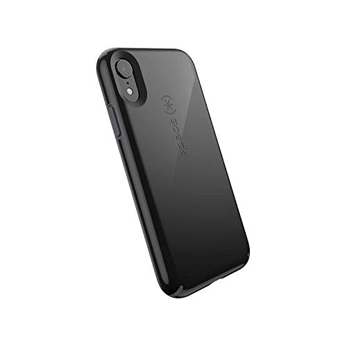(Speck Products CandyShell iPhone XR Case, Black/Slate Grey)