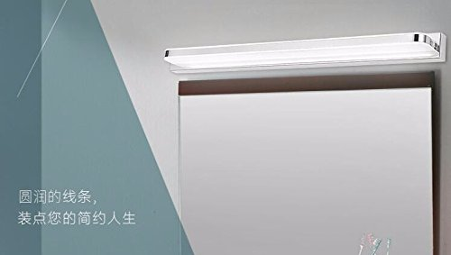 Yu k moderne lampade da parete a specchio led luci anteriori uno