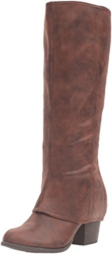 Tall Boots - Fergalicious Women's Lundry Western Boot, Cognac, 7.5 M US