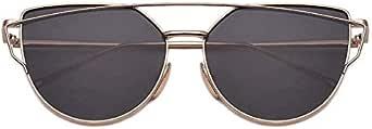كبير أزياء الرجال صندوق معدني والنساء نظارات شمسية عالمية