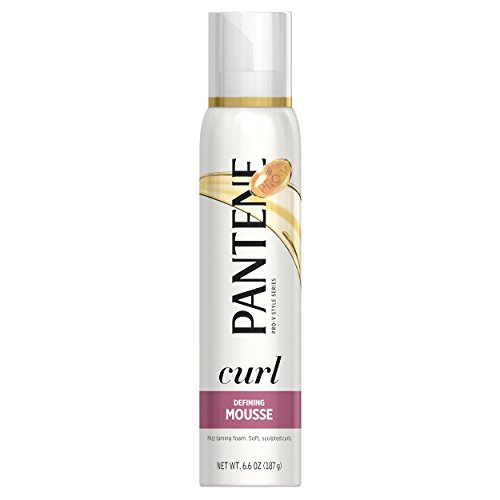 Pantene Pro-V Curl Defining Hair Mousse Maximum Hold 6.6 Oz (Pack of 3)