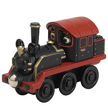 Chuggington Wooden Railway Old Puffer Pete from TOMY