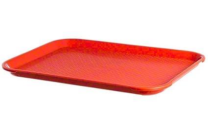 Thunder grupo plfft1014rr rectangular plástico Bandeja de Comida rápida, 10 – 1/2 por