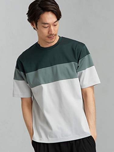 [グリーンレーベルリラクシング] CSM ポンチ パネルシーム クルーネック 半袖 Tシャツ カットソー 32171994844 メンズ