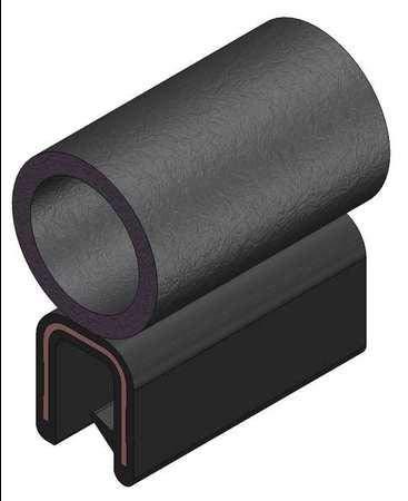 3100B3X1/4C-25 Seal,Alum Clip,0.42 in W,25 Ft