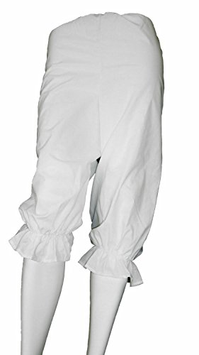 Alexanders Costumes Women's Rag Doll Bloomers, White