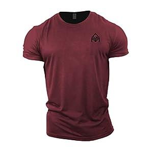 GYMTIER T-Shirt Gym | Vêtements d'entraînement de Culturisme pour Hommes Plain