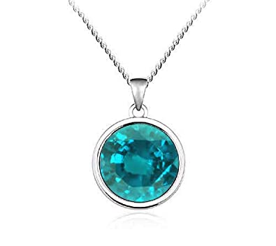 01fa97ae53e Buy Civetta Spark Bella Pendent & Earnings- with Swarovski Sea Green Crystal  Online at Low Prices in India | Amazon Jewellery Store - Amazon.in