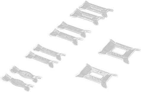 Heally Ringgrößenanpassung für lose Ringe für Männer und Frauen (transparent) 10 Stück