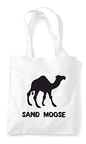 Alternative Bag Shopper Camel Moose Animal Names White Sand Tote rwpYPrTqx