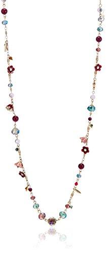 Accessorize Long Mala Necklace for Women (Bright and Multi-Colour) (MN-18249799001)