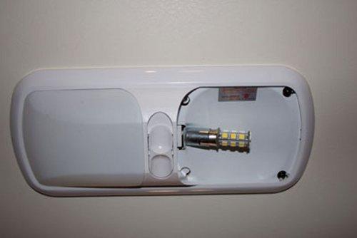 1 Warm White 1156 Led Light Bulb Rv Led Lights 12v Rv Interior Lighting Just Rv Parts