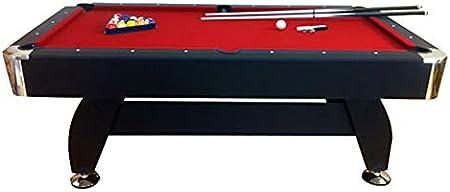 giordanoshop Tavolo da Biliardo Professionale Panno Rosso 188x96