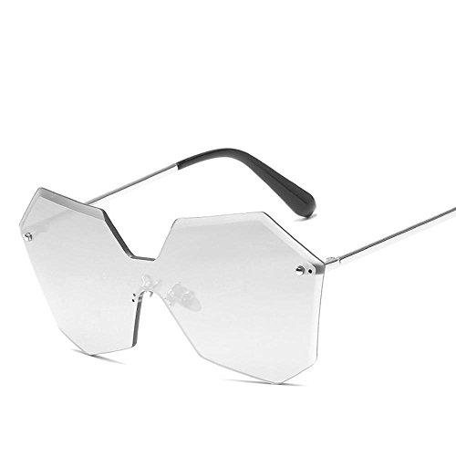 Aoligei L'Europe et aux États-Unis sans armature jointes lentilles lunettes de soleil fashion hommes et femmes le même t général lunettes de soleil Rend les lunettes de soleil G