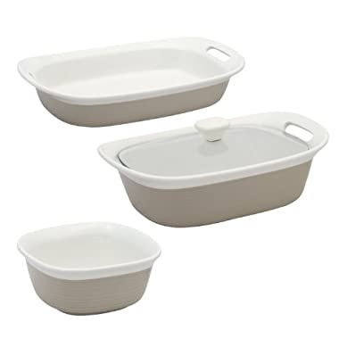 CorningWare Etch 4 Piece Set