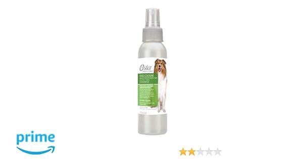 Oster Colonia para perros manzana verde 118 ml: Amazon.es: Productos para mascotas