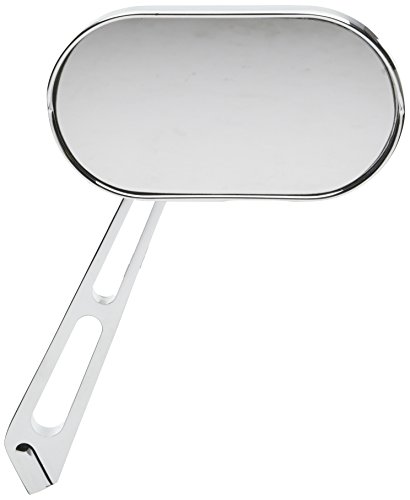 Kuryakyn 1408 Motorcycle Handlebar Accessory: Magnum Plus Small Head Rear View Side Mirror with Convex Glass for 2004-19 Harley-Davidson Motorcycles, Chrome, Pack of 1
