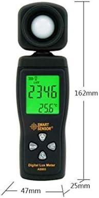 QWERTOUR Digital Lux Meter 0~200,000lux Range Luxmeter Light Meter illuminometer lux//fc Photometer Tester Enviromental Testing