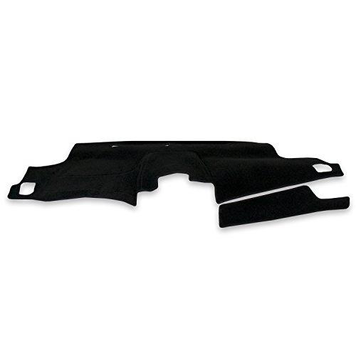 Coverking Custom Fit Dashcovers for Select Ford Custom 500 Models - Poly Carpet (Black)