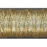 6 SMOOTH PASSING THREAD ~ Packaged per 5 yard length GILT No