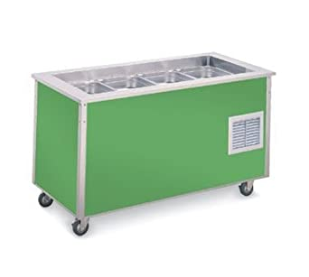 Amazon Com Vollrath 37066 Signature Server Nsf7 Refrigerated Cold Food Station With Stainless Steel Countertop 60 W X 28 D X 34 H Industrial Scientific
