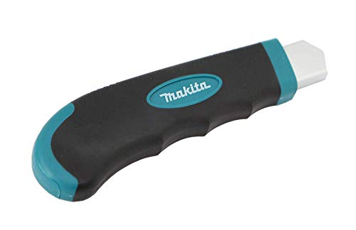 Makita Utility Knife Snap-Off Easy Loading Retractable Extra Blades Comfortable Rubber Handle Total 8 Blades 1