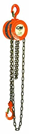 CM Series 622 Hand Chain Hoist, Hook Mount