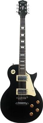 Oscar Schmidt OE20B Electric Guitar - Black
